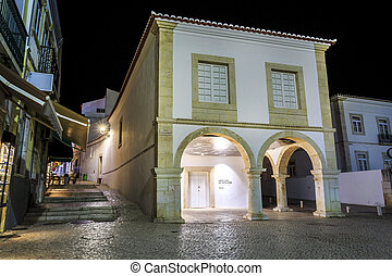 Slave market - place, where the first slave was brought, Lagos, Portugal