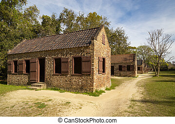 Slave's quarters on the Boone Hall Plantation, Charleston, SC