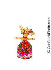Slavic holiday carnival handmade dolls