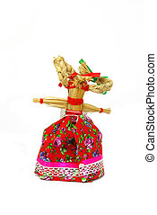 Slavic holiday carnival dolls