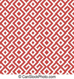 slavic ornament seamless pattern
