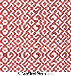 slavic ornament seamless pattern