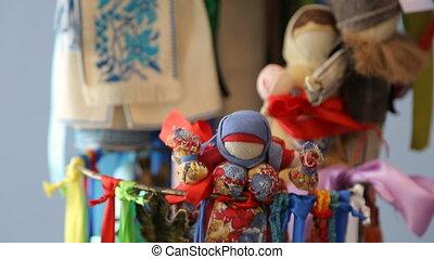Slavic talismans dolls