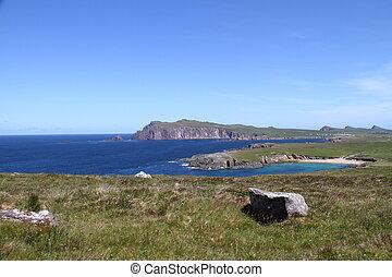 Slea Head Drive view Dingle Peninsula County Kerry Ireland
