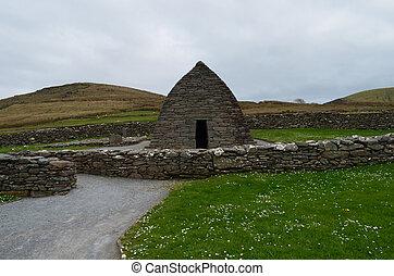 Slea Head's Gallarus Oratory - Stone Gallarus Oratory on the...