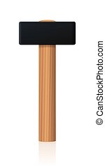 Sledgehammer Large Metal Head - Sledgehammer with large...