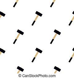 Sledgehammer pattern flat