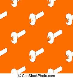 Sledgehammer pattern orange