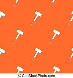 Sledgehammer pattern seamless - Sledgehammer pattern repeat...