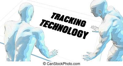 sledování, technika