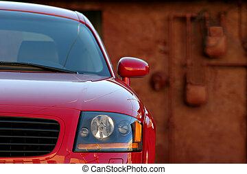 sportscar - sleek sportscar - an audi TT roadster parked ...