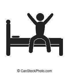 Sleep good theme design, vector illustration.