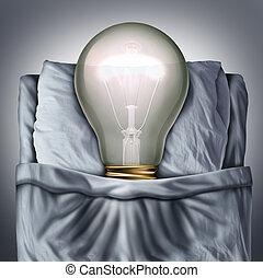 Sleep Ideas - Sleep ideas and sleeping concept as a 3D...