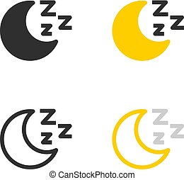 Sleep mode icons