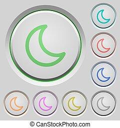 Sleep push buttons