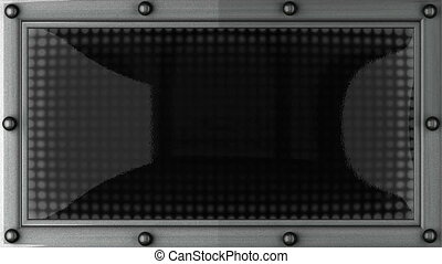 sleep  announcement on the LED display