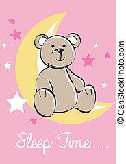 Sleep time bear