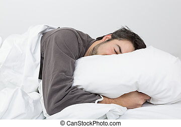 sleep time - in the bedroom