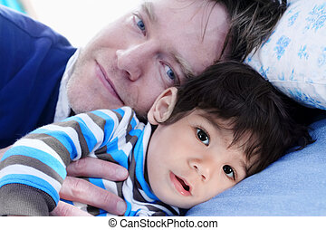 Sleep time with my dad