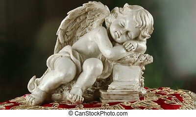 Sleeping angel, books