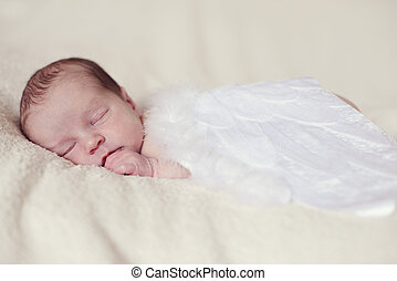 angelic newborn