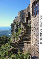 Sleeping Beauty, picturesque entrance into the castle, Slovenia