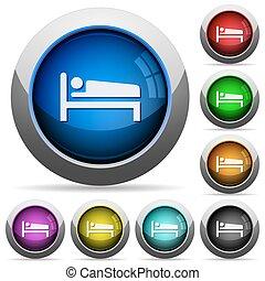 Sleeping button set