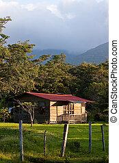 Sleeping cabin on a hacienda in costa rica