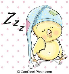 Sleeping Chicken