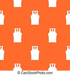 Sleeveless shirt pattern seamless