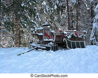 sleigh, esperar
