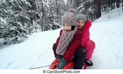 sleighing, ensemble