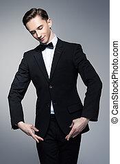 slender male dancer