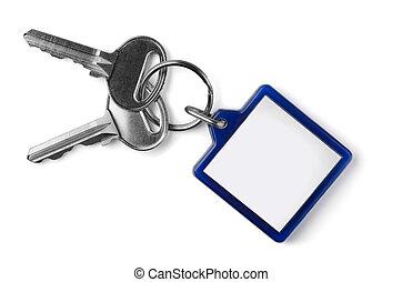 sleutels, klee, fob