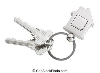 sleutels, woning
