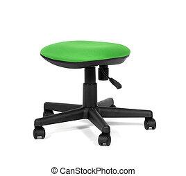 slice green chair
