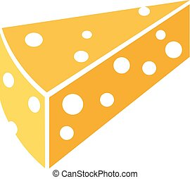 slice of cheese with holes
