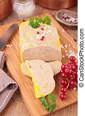 slice of foie gras