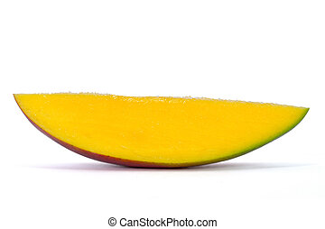 slice of mango