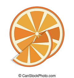 slice of orange fruit icon