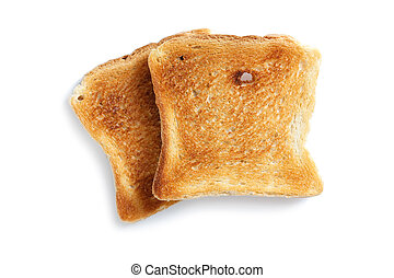 slice of toasted bread