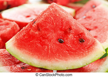 watermelon - slice of watermelon