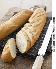 Sliced Baguette Sticks