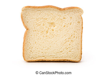 Sliced Bread with white background