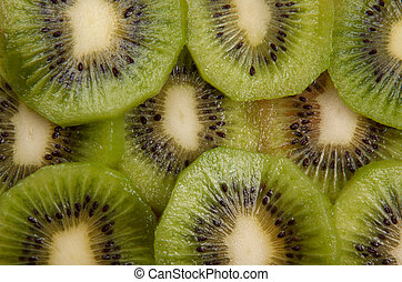 sliced ??kiwi