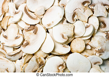 sliced ??mushrooms