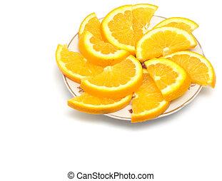 sliced ??orange