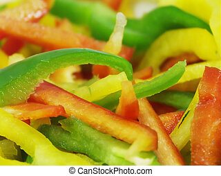 sliced peppers #2