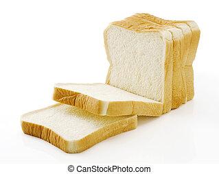 Sliced plain bread