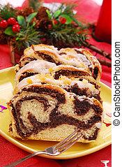 poppy cake for christmas